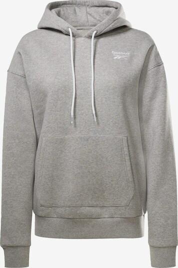 Reebok Sport Hoodie in weiß, Produktansicht