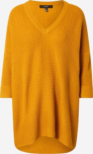 VERO MODA Pullover in goldgelb, Produktansicht