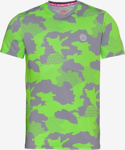 BIDI BADU T-Shirt 'Nio Tech' in grau, Produktansicht