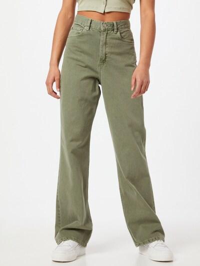 Dr. Denim Jeans 'Echo' in de kleur Groen, Modelweergave
