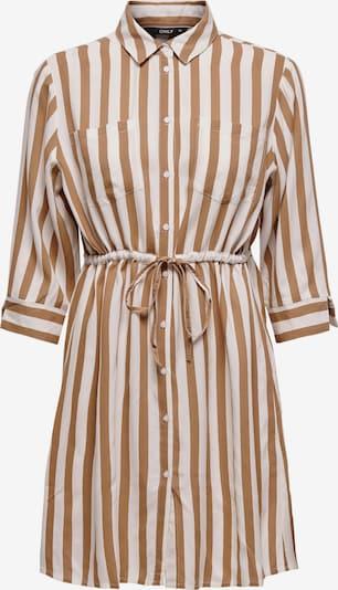 ONLY Blusenkleid in beige / braun, Produktansicht