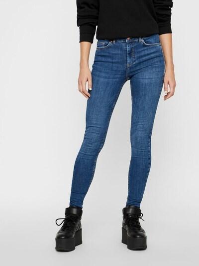 PIECES Jeans 'DELLY' in blue denim, Modelansicht