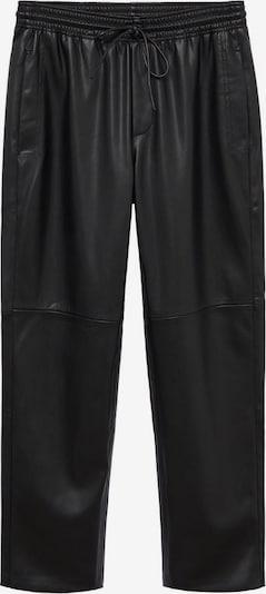 MANGO Spodnie w kolorze czarnym, Podgląd produktu