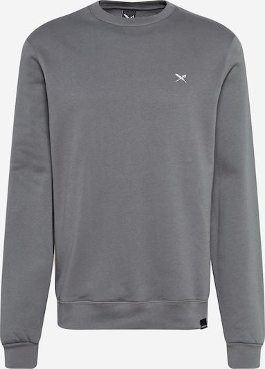 Iriedaily Sweatshirt in grau / weiß, Produktansicht