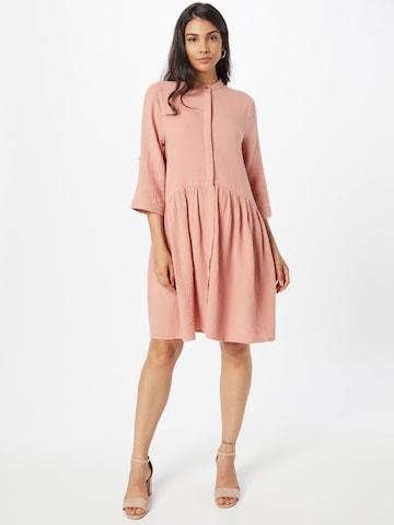 mbym Shirt Dress 'Albana' in Pink