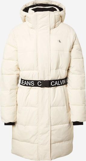 Calvin Klein Jeans Зимно палто в черно / бяло, Преглед на продукта