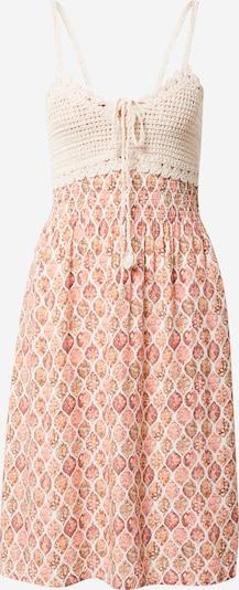 Hailys Kleid 'Kana' in creme / pastellorange / rosa, Produktansicht