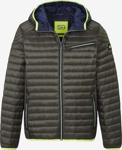 S4 Jackets Jacke in schlammfarben / neongrün, Produktansicht
