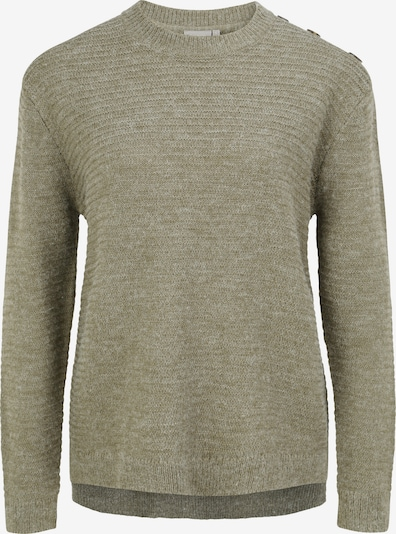 Fransa Pullover 'FRLEMERETTA 1' in dunkelgrau / grün / khaki, Produktansicht