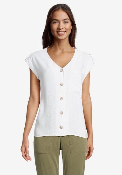 Betty & Co Schlupfbluse mit Taschen in weiß, Modelansicht