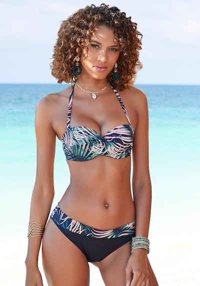 fekete LASCANA Bikini felső, Modell nézet