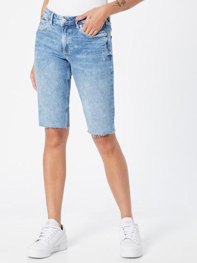 Džinsai 'Catie' iš Q/S designed by, spalva – tamsiai (džinso) mėlyna, Modelio vaizdas
