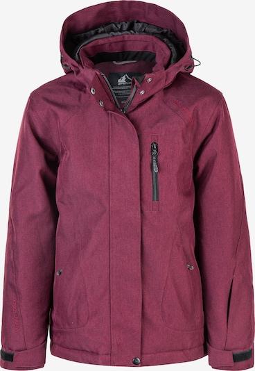 Whistler Skijacke 'SAVALI W-PRO 10.000' in dunkelrot, Produktansicht