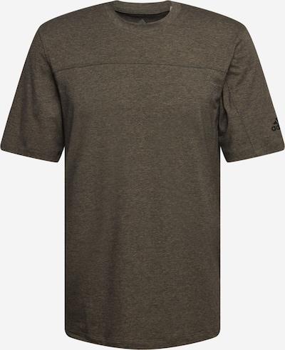 ADIDAS PERFORMANCE Sportshirt in khaki / schwarz, Produktansicht