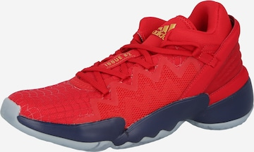 ADIDAS PERFORMANCE Athletic Shoes 'Issue' in Red