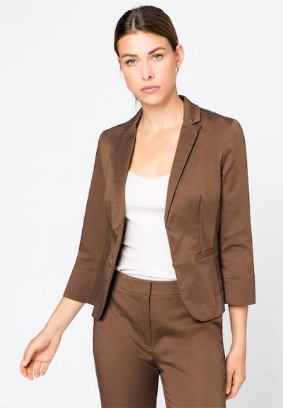 HALLHUBER Blazer 'SOFIA ' in braun, Modelansicht