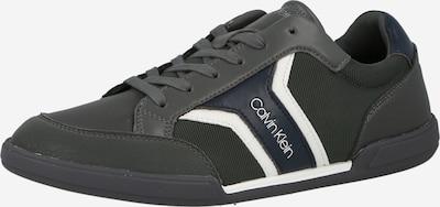 Calvin Klein Platform trainers in Navy / Dark grey / Fir / White, Item view