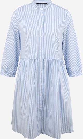 Vero Moda Tall Robe-chemise 'Sisi' en bleu / blanc, Vue avec produit