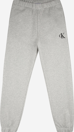 Calvin Klein Jeans Trousers in grey mottled / black, Item view