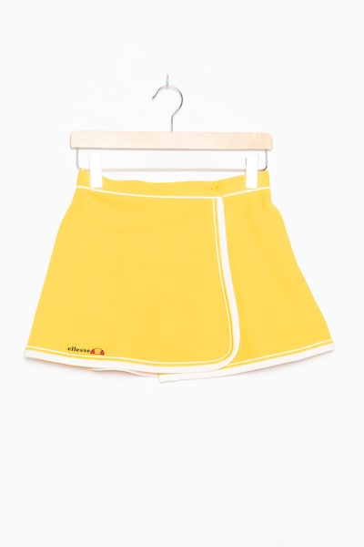 ELLESSE Rock in S in gelb, Produktansicht