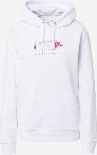 EINSTEIN & NEWTON Sweat-shirt 'Hope' en rouge clair / noir / blanc, Vue avec produit