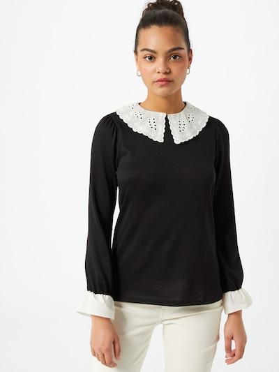 Bluză Dorothy Perkins pe negru / alb, Vizualizare model