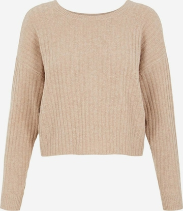 PIECES Sweater in Brown