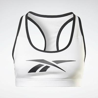 Reebok Sport Sports Bra in Black / White, Item view