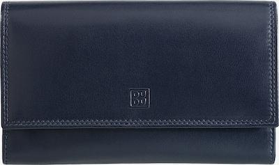 DuDu Geldbörse 'Devon' in navy / hellblau / orange, Produktansicht