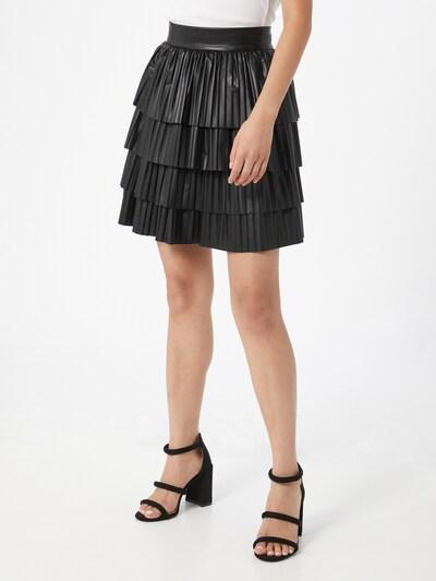 GUESS Spódnica 'Paloma' w kolorze czarnym: Widok z przodu