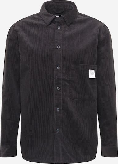 Dr. Denim Hemd 'Frank' in schwarz, Produktansicht