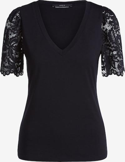 SET Shirt in de kleur Zwart, Productweergave