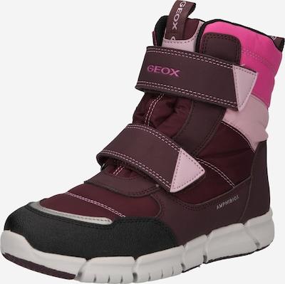 GEOX Snowboots 'FLEXYPER' in pink / rosa / weiß, Produktansicht