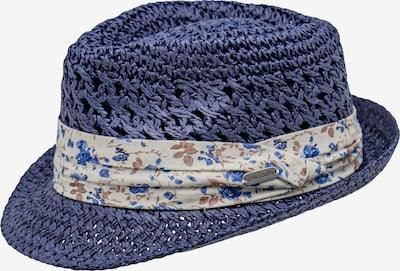 chillouts Chapeaux en bleu marine / noisette / blanc naturel, Vue avec produit