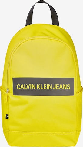 Calvin Klein Jeans Rucksack in Gelb
