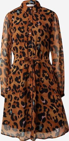Fabienne Chapot Shirt Dress 'Frida Cato' in Cognac / Black, Item view