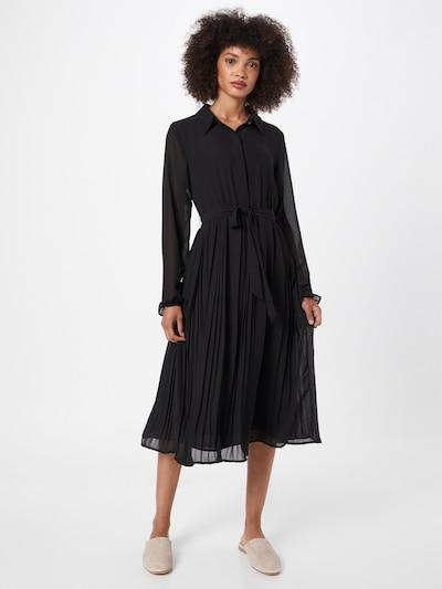 Rochie tip bluză 'BLOSSOMS' VILA pe negru, Vizualizare model