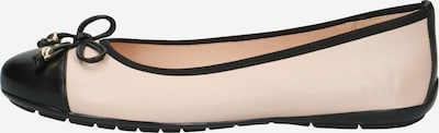 CAPRICE Ballerina in beige / schwarz, Produktansicht