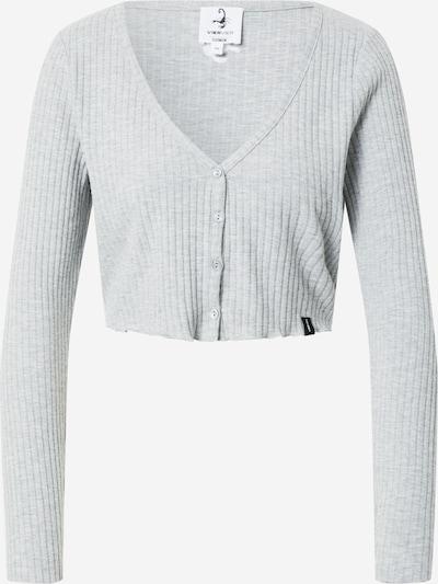 VIERVIER Shirt 'Rosalie' in grau, Produktansicht