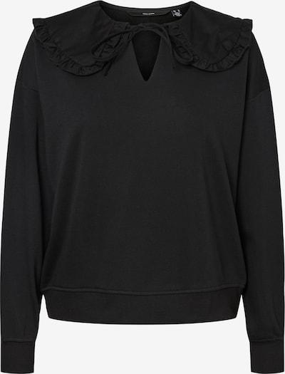 Vero Moda Curve Sweatshirt 'Becca' in schwarz, Produktansicht