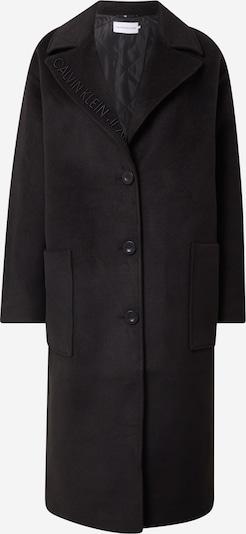 Palton de primăvară-toamnă Calvin Klein Jeans pe negru, Vizualizare produs