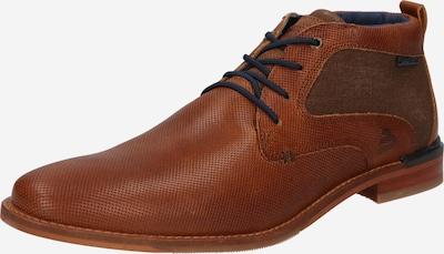 BULLBOXER Chaussure à lacets en bleu marine / caramel, Vue avec produit