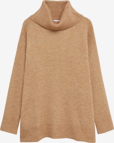 MANGO Pullover in hellbraun, Produktansicht