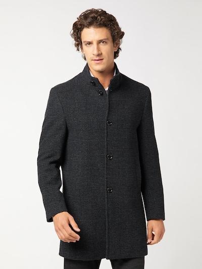 PIERRE CARDIN Mantel in grau / schwarz, Modelansicht