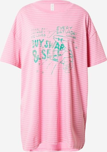 Cotton On Body Nachthemd in pastellblau / hellpink / weiß, Produktansicht