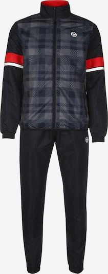 Sergio Tacchini Trainingsanzug 'Allan' in navy / dunkelblau / grau / rot, Produktansicht