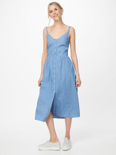 VILA Dress 'Fanzi' in Blue denim, View model