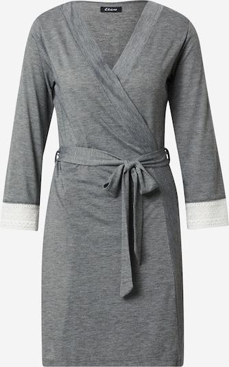 ETAM Сутрешен халат в сиво / бяло, Преглед на продукта