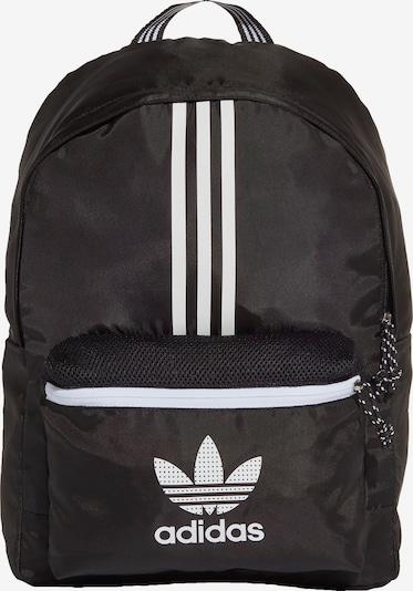 ADIDAS ORIGINALS Rucksack in schwarz / weiß, Produktansicht