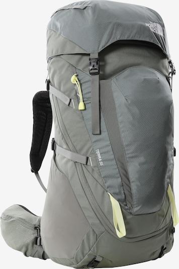 THE NORTH FACE Sportrugzak 'Terra' in de kleur Lichtgeel / Grijs / Zwart, Productweergave